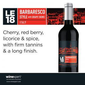 LE18 Barbaresco Style