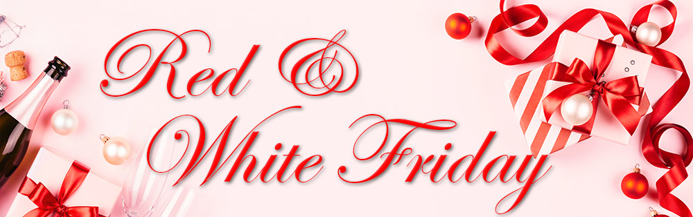 Red & White Friday Sale